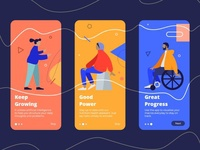 Onboarding Fitness and Health Tracking App