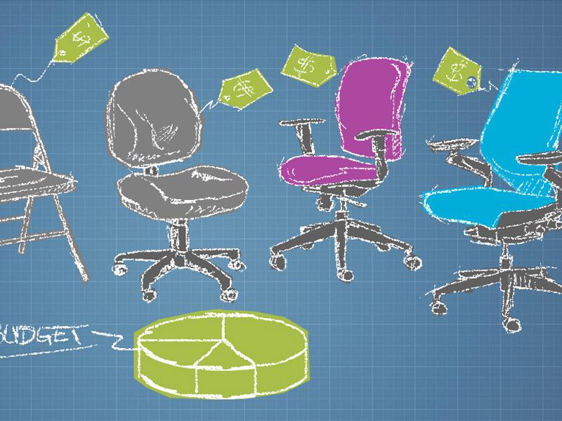 Chairs illustration blog