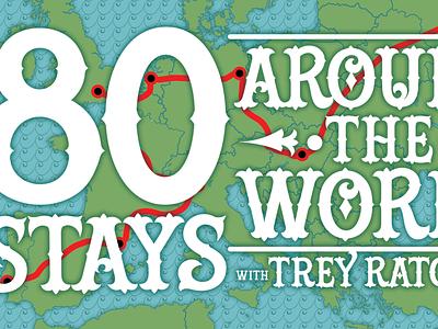 80 Stays Around the World animation 2d