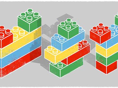 Tenstreet Lego Stacks legos