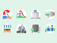 City Location Icons