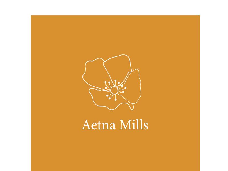 Aetna Logo 2x 100 poppy poppies floral logos floral logo floral design floral flower logo flower illustration
