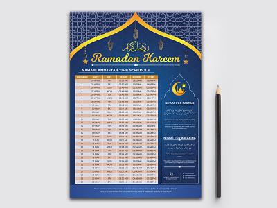 Ramadan Kareem, Ramadan Calendar for Fasting and Prayer time arabic new year arabic new year islam muslim print ready prayer times ramadan ramadan kareem ramadan 2020 iftar prayer holy month ramadan time sahari