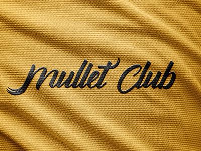 mullet club brand logo logodesign adobe illustrator logotipo streetart typography logodesigner fashion minimalist logo fashion brand mullet identity design identity logomark logotype logo branding