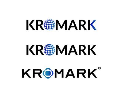 kromark- logo proposal for a international trade company logotipo logodesigner logomaker logomark visual identity visual design gradient graphicdesign logodesign vector branding adobe illustrator logotype logo