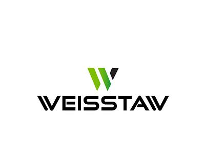 weisstaw_logo redesign gradient visual design logotype modern logo minimalist adobe illustrator rebranding graphicdesign logodesign vector branding logo