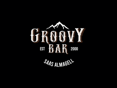 bar logo visual design graphic design adobe illustrator typography restaurant branding bar vector logotype logodesign logo branding
