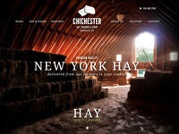 Chichester Hay, Shavings & Straw Website & Branding