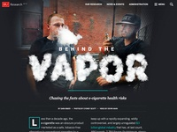 Behind the Vapor: E-cigarette feature for BU Research