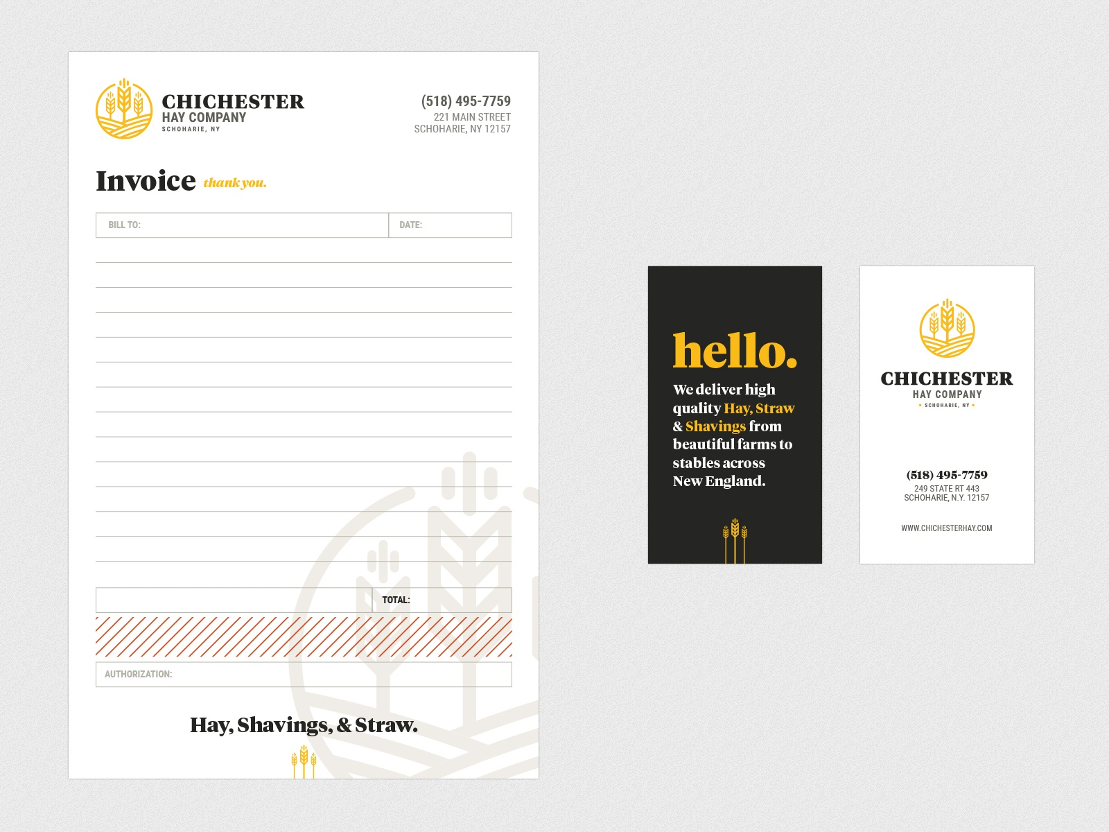 Chichester hay dribbble invoice full size