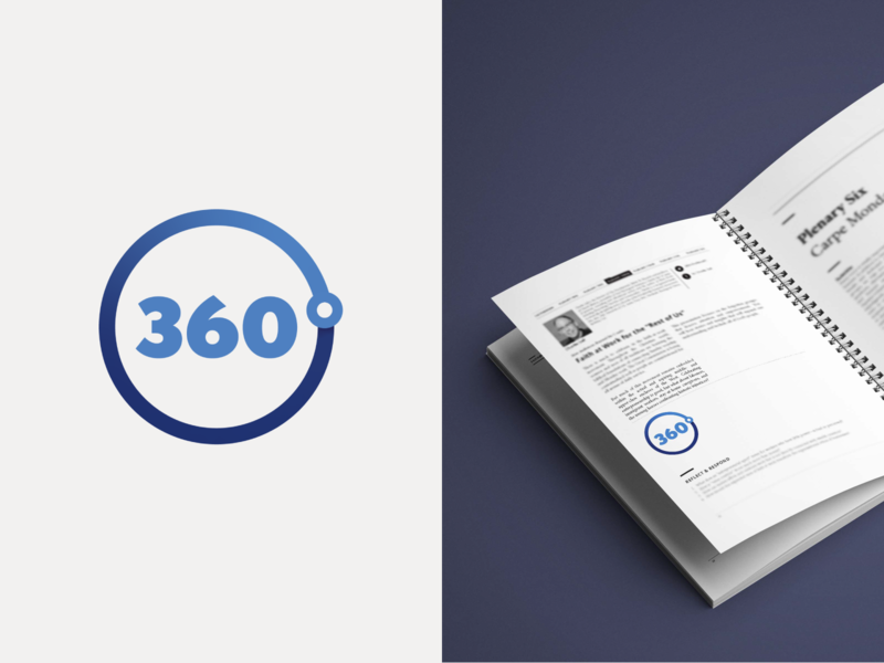 360°  Moment 360 degree 360° mark branding logo color design icon