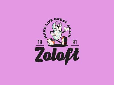 Re-Design of Zoloft / antidepressant