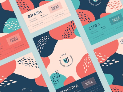 Coffee Package Design brand identity brand design brand vector logo flat design graphic design illustration branding