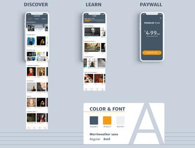 Classical Music App | Designflows 2019