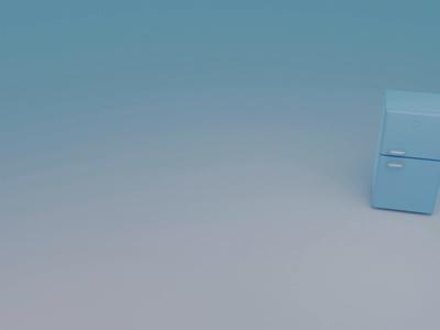 Funky Fridge blender3d fridge 3d animation