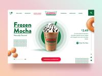 Krispy Kreme UI Concept