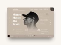 Nipsey Hussle Tribute.