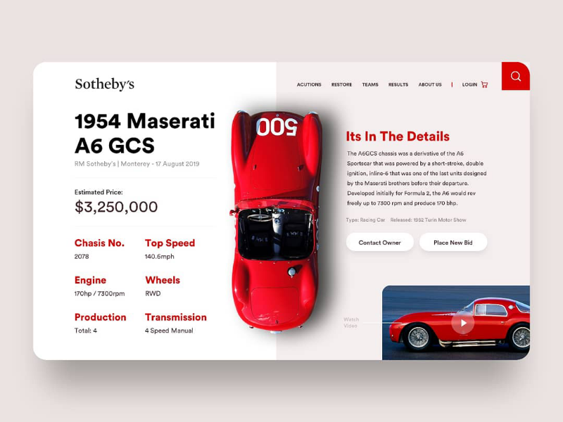 The 500 maserati uxdesign webdesign uiux userexperiencedesign userinterface sketchapp design uidesign