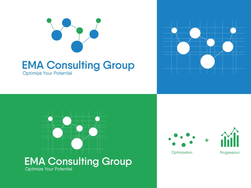 Logo Design for EMA Consulting Group