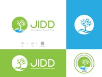 Logo Design for Sustainable Organisation JIDD brand design brand identity sustainability sustainable sustainable organisation organisition jidd environment environmental sea green cameroon logo design badge nature logodesign logo branding dark code
