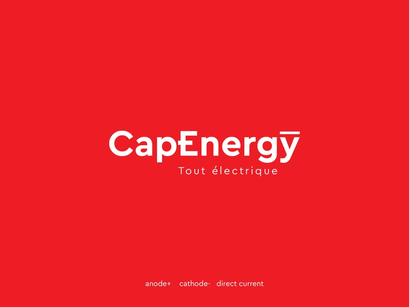Logo Construction - CapEnergy design branding logo dribbble dark code cameroon logodesign company branding brand identity grid energy logo logotype electrician electricity electric company energy