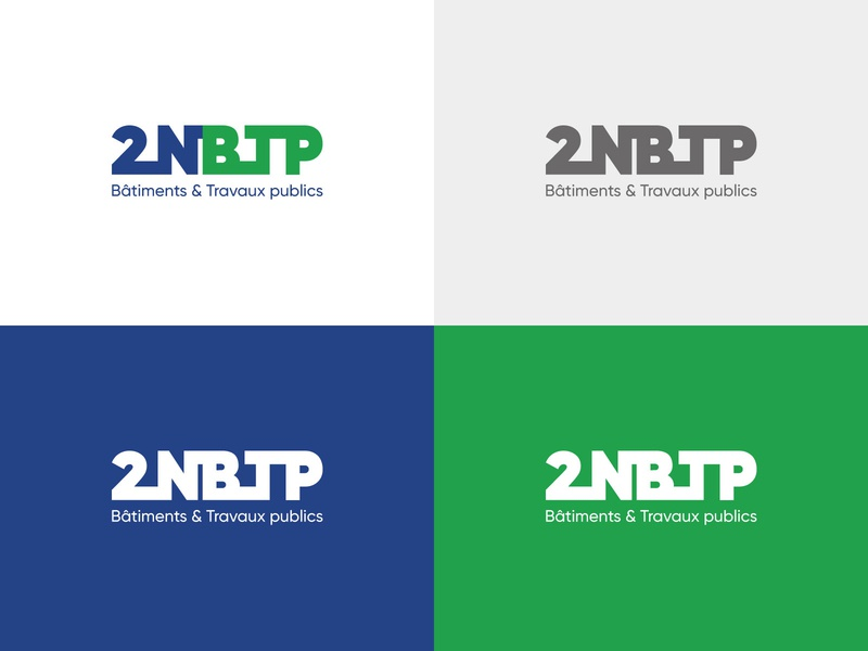 Redesign of the visual identity of 2NBTP constructor construction logo cameroon logotypedesign logotype company logo redesign branding design brand identity construction company company building construction branding logo dribbble design dark code