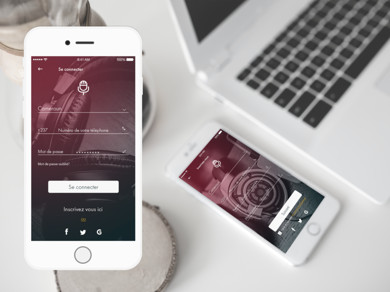 Mobile UI : App Music Player cameroon apps design music app music player app music player ui ux designer website ux ui design ux ui uiux design design dark code dailyui app app design