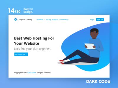 Dark Code Daily UI 30 - Day 14