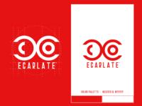 Logo concept : Ecarlate
