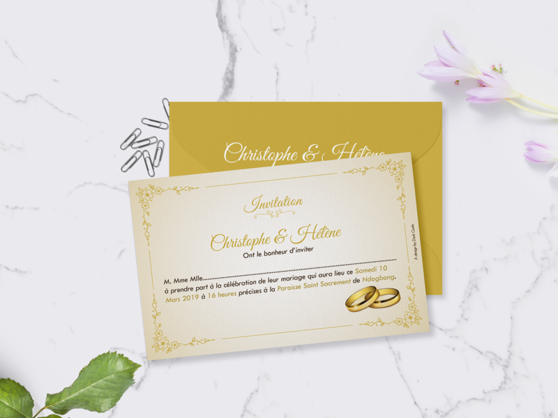 Weddings cards invitations yellow dribbble mockup mockup design graphic designinspiration graphic  design invitation cards wedding wedding card design dark code