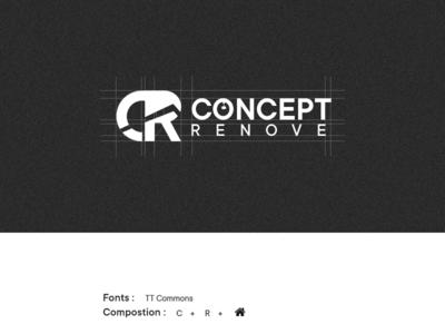 Logo Construction - Concept Renove — Part 2 architecture construction monogram logo construction logotype cameroon darkcode dark code grid brand identity brand design monogram logo logomark branding creative logo logodesign logo