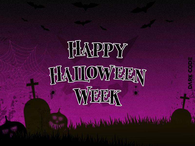 HappyHalloweenWeek cameroon spider halloween party week dark code darkcode dribbble designconcept art design happyhalloween happyhalloweenweek halloweenweek halloween design halloween
