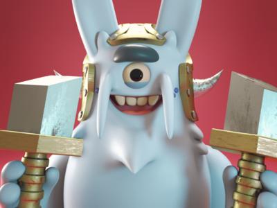 conejo guerrero