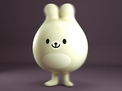 mamifero render mascot character 3d cuteness cute kawaii