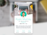 Daily UI: #006 - User Profile