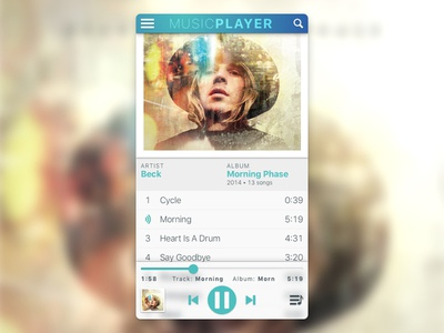 Daily UI: #009 - Music Player