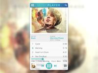 Daily UI: #009 - Music Player
