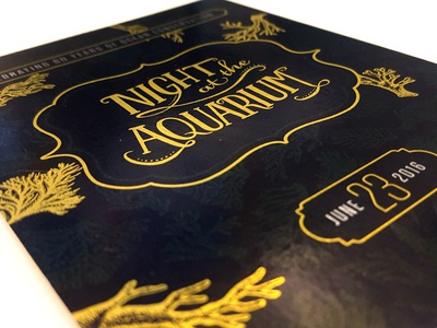 Night at the Aquarium Invitations