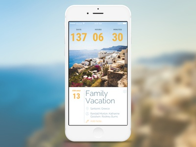 Daily UI: #014 - Countdown