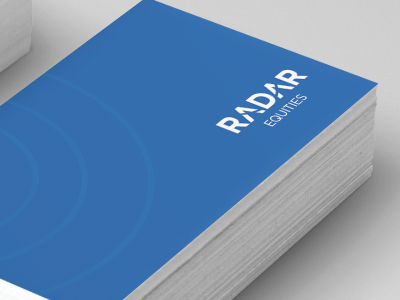Radar Equities _ Business Cards