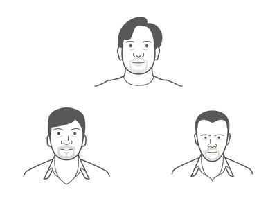 Minimalist Avatars illustration avatars minimalist portraits character