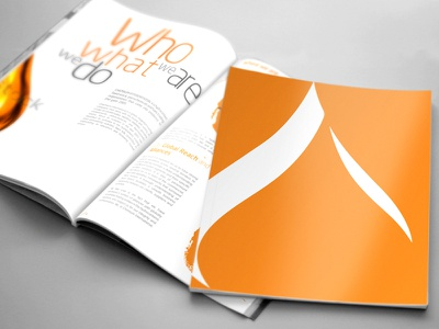 Corporate Brochure brochure prepress