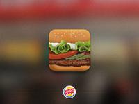 Burger App Icon