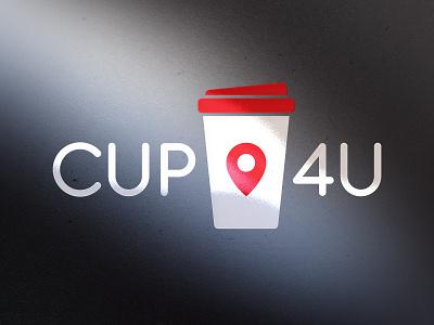 Cup4U logotype logoinspirations logo identitydesign identity branding brandidentity brand