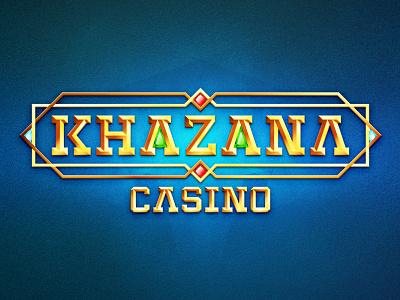 Khazana Casino casino design logotype logo