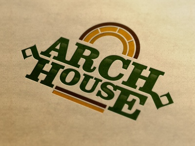 ARCH House typography type logotype logoinspirations logo identitydesign identity branding brandidentity brand