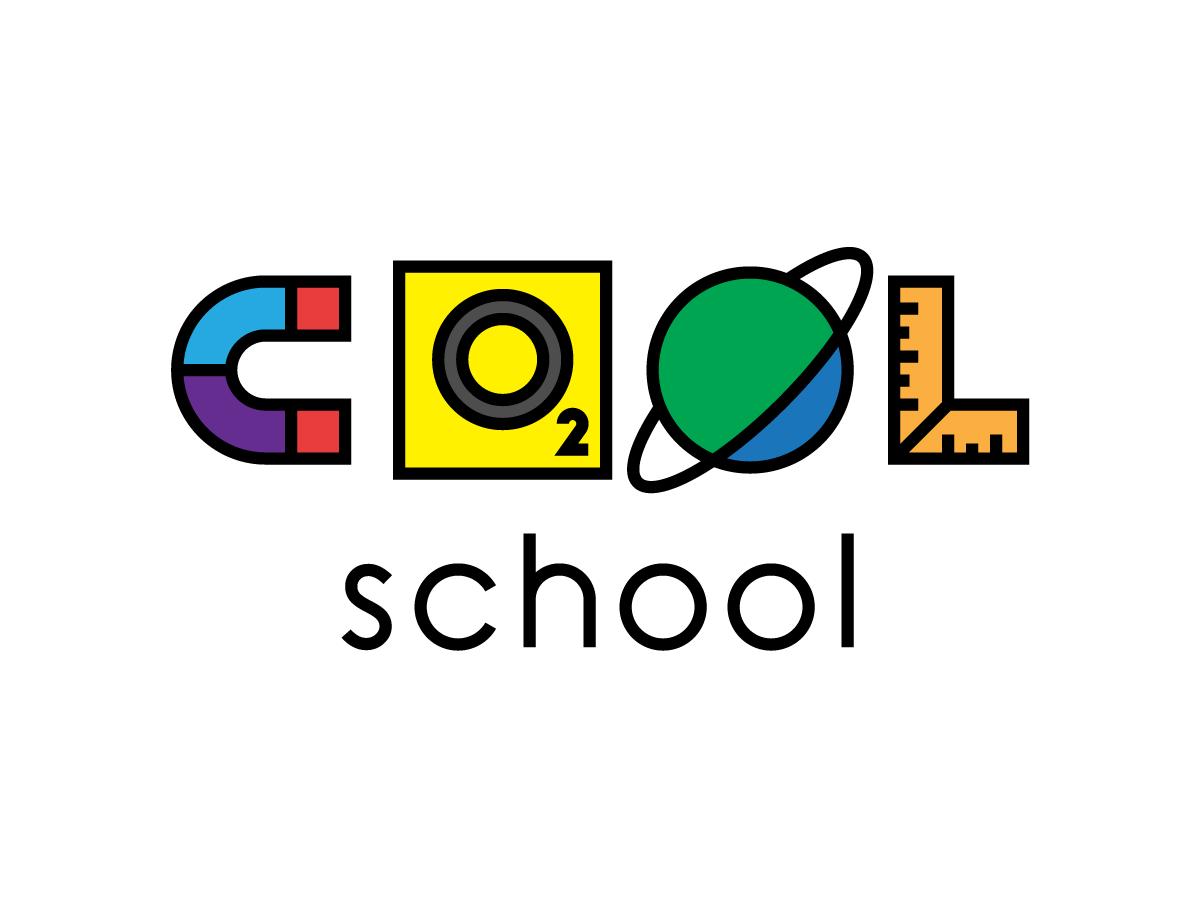 COOL-School typography type logotype logo flat branding brand identity brand