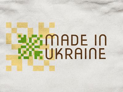 Made In Ukraine typography logo typography type logo inspirations logotype logo identity design identity branding brand identity brand