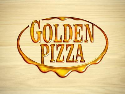 GoldenPizza typography type logoinspirations logotype logo identitydesign identity branding brandidentity brand