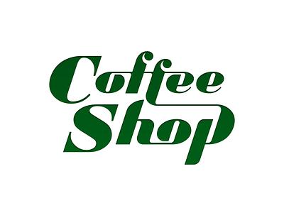CoffeShop typogaphy type logoinspirations logotype logo identitydesign identity branding brandidentity brand